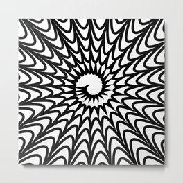 hypnotic pattern 5e Metal Print