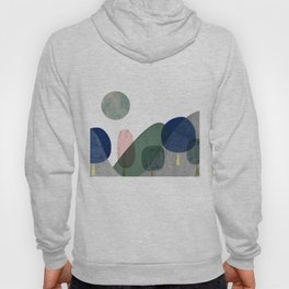 Trees and mountains Hoody