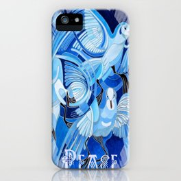 Celtic Peace Dove Greeting Card  iPhone Case