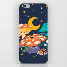 Goodnight Plume iPhone & iPod Skin