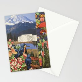 Nature Lover Collage Stationery Cards