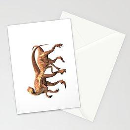 Velociraptor ..  animal design Stationery Cards