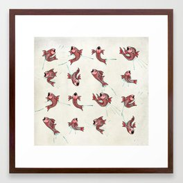 Pescado Framed Art Print