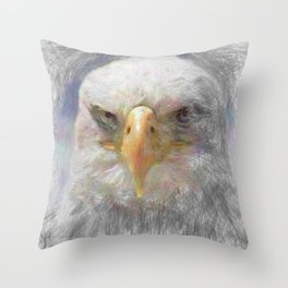 Artistic Animal Eagle Throw Pillow
