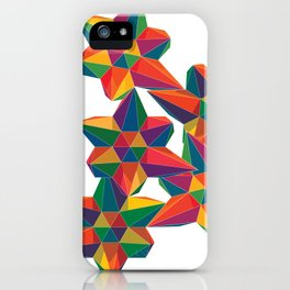 Hexagon Explosion iPhone Case