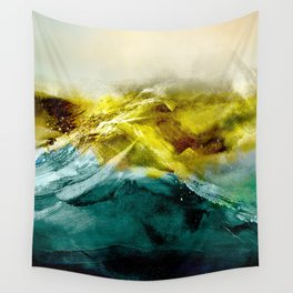 Abstract Mountain Wall Tapestry