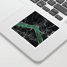 Arrows - Black Granite & Green Granite #269 Sticker