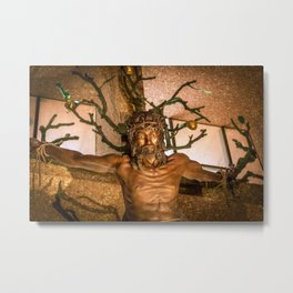 Christ of the Holy Cross Metal Print