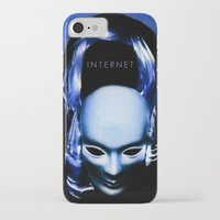 internet iPhone & iPod Cases featuring internet by Luca Finardi