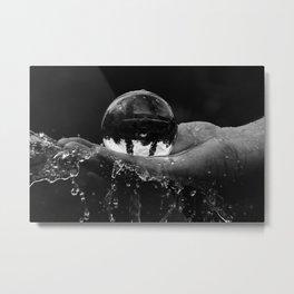 roundet water Metal Print