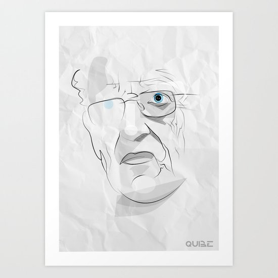 Tribute: Moebius (Jean Giraud) Art Print
