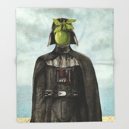Son of Darkness Throw Blanket