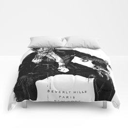 Zombie Bespoke (With Copy) Comforters