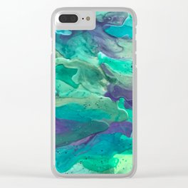 Green Rule Clear iPhone Case