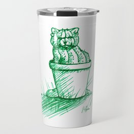 Catctus Travel Mug