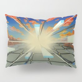 Projected Perspective Pillow Sham