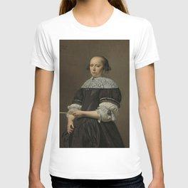 Caesar Boëtius van Everdingen - Portrait of Elisabeth van Kessel, Wife of Willem Jacobsz Baert T-shirt
