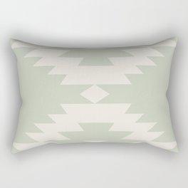 Southwestern Minimalism - Sage Green Rectangular Pillow