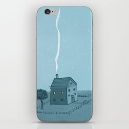 Lonely House iPhone Skin