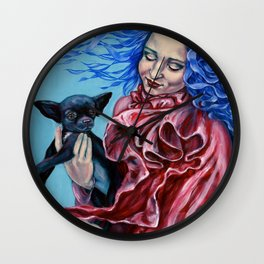 Vera Lilith Wall Clock