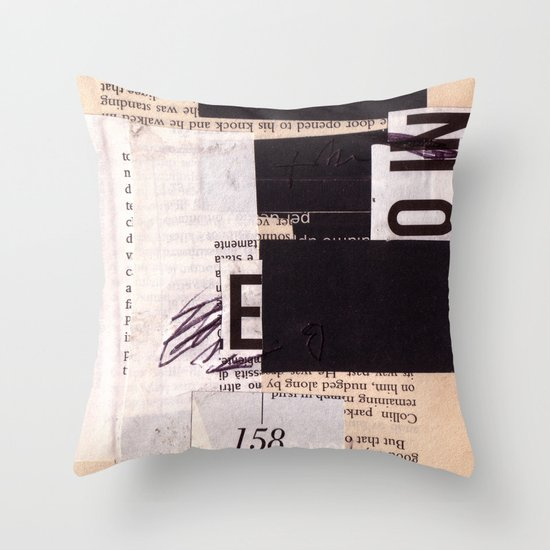 BOOKMARKS SERIES pg 302 Throw Pillow