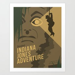 The Indiana Jones Adventure Art Print