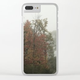 Foggy Morn Clear iPhone Case