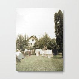 Garden house Metal Print
