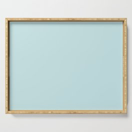 Powder Blue Soft Blush Serving Tray