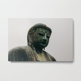 Great Buddha in Kamakura Metal Print