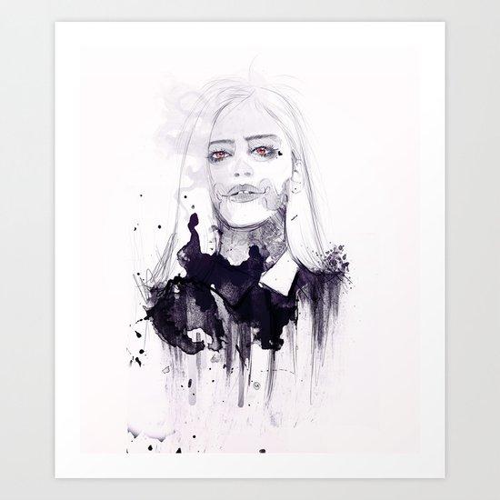 Love From The Devil Art Print