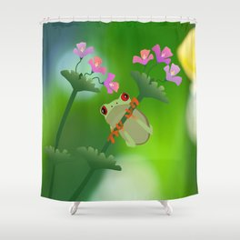 Just Hanging Around Shower Curtain