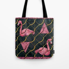 Luxurious Pink Flamingo Tote Bag