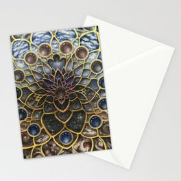 A Looking Glass Into Existence Stationery Cards
