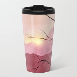 Sunset & landscape Travel Mug