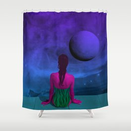 Infinity Pool Shower Curtain