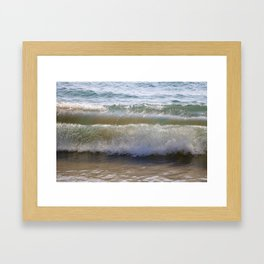 Maui Waves Framed Art Print