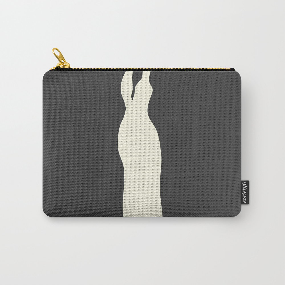 Fashion Designer Icons: Calvin Klein Carry-all Pouch by Caligrafica CAP8826797