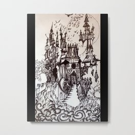 Happy castle Metal Print
