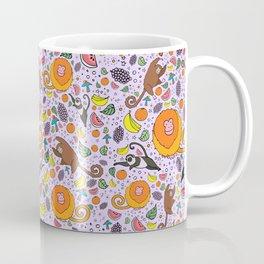 Cute Tropical Pattern Coffee Mug