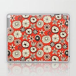 summer flowers fire Laptop & iPad Skin