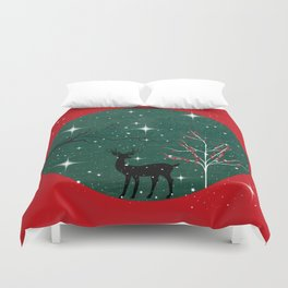 Have a wonderful Christmas - Holidaze Duvet Cover