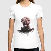 tokyo ghoul T-shirts featuring Kaneki - Tokyo Ghoul by Fisukenka