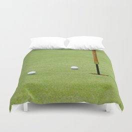 Golf Pin Duvet Cover