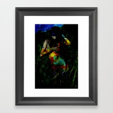 Near the Abyss Framed Art Print