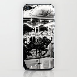 Navy Pier's Carousel at Night iPhone Skin