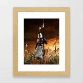 Templar Framed Art Print