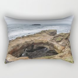 Not Much Punch for the Devil's Punchbowl Rectangular Pillow