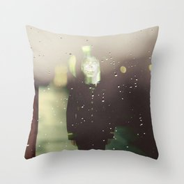Random man Throw Pillow