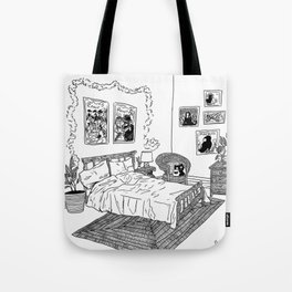 Bedroom 1 Tote Bag
